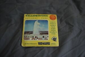 EARLY SAWYVIEWMASTER PACKET REELS 126/127/128 YELLOWSTONE   AS PHOTOS