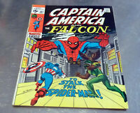 REDUCED!! CAPTAIN AMERICA 137 Spider-Man guests Silver Age Marvel Comics 1970