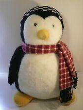 "18"" Joey Friends TV Hugsy Mumford Mummford Plush Penguin Debbie Mumm 1990's VTG"