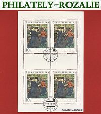Czech Republic 1994 stamps sheet Art  57