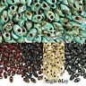 20 or 50 Grams Picasso Miyuki 7mm Long Magatama Glass Seed Beads Pick your Color