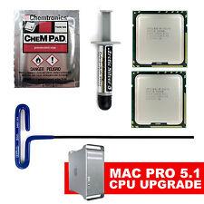 12 Core 2010 2012 Apple Mac Pro 5.1 X5690 x2 3.46GHz XEON CPU Upgrade Kit 5,1