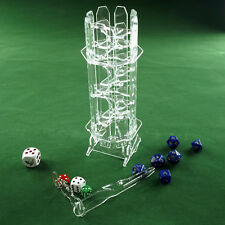EVO DICE TOWER - crystal clear dice tower perfect for any game with dice