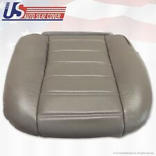2003 to 2007 Hummer H2 Passenger Side Bottom Replacement Vinyl Seat Cover Gray (Fits: Hummer)