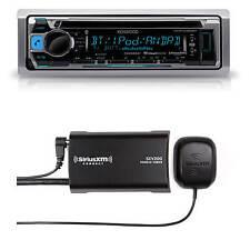 Kenwood KMR-D368BT Marine CD MP3 Bluetooth Stereo + SXV300-V1 SiriusXM Antenna