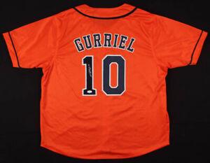 Yulieski Gurriel Signed Houston Astros Jersey (JSA COA) 2017 World Champion