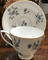 Vintage Royal Albert GREENSLEEVES Cup & Saucer Fine PorcelaiN Made In England