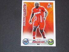 WOME 1. FC KÖLN TOPPS MATCH ATTAX PANINI FOOTBALL BUNDESLIGA 2009-2010