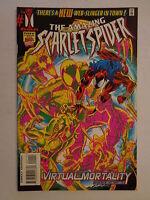 The Amazing Scarlet Spider DeFalco Volume 1 #1 Marvel Comics November 1995 NM