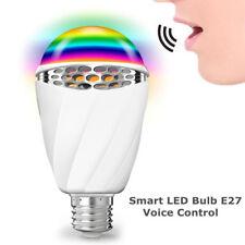 Voice Control E27 Smart Led Adjustable Dimmable Light Decorative Bulb F1