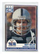 MATT MILLEN 2004 Big 33 Pennsylvania PA High School Chairman PENN STATE Raiders