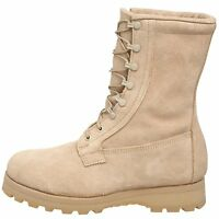 US MILITARY GORE-TEX LINED ICWT COLD WET WEATHER 5 REG DESERT TAN COMBAT BOOTS