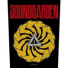 More details for soundgarden badmotorfinger 2018 - giant back patch 36 x 29 cms official merch