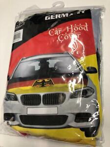National Team Germany Euro Cup European Soccer Football Car Hood Cover 40 x 50