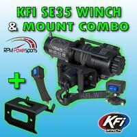 11-15 100860 John Deere Gator XUV 625i//825i//855D KFI Winch Mount