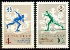 Russia Ussr 1970, Sc# 3796-3797 Mnh, winter sports competitions