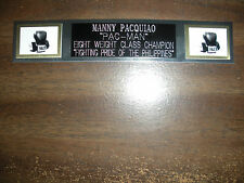MANNY PACQUIAO (BOXING) NAMEPLATE FOR SIGNED GLOVES/TRUNKS/PHOTO DISPLAY