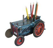 """Werkhaus - Stiftebox Traktor """"Hanomag R28"""" (WE2095) Stifteköcher Stiftehalter"""