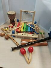 Bundle Kids Musical Instruments Percussion Woodwind Educational Home School 10D