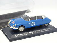 Ixo Presse 1/43 - Citroen DS 21 Rallye Monte Carlo 1966