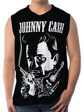 Johnny Cash Herren Tank Top Trägertops wa16 aao20161