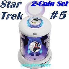 2015 Star Trek Captain Kathryn Janeway U.S.S Voyager 1oz Silver Proof 2-Coin Set