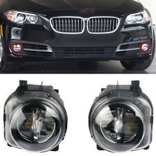 Front Bumper LH+RH LED Fog Light Lamp Fit For BMW 5 Series F10 F07 LCI 2014-2016