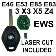BMW Key chip transponder EWS  * W/ CUT INCLUDED * 3 E46 e83 e85 Hu92