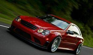 Mercedes - Benz CLK W209 Black Series  - Wide Full Body Kit AMG look