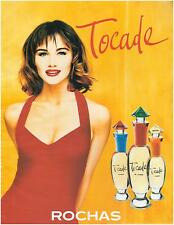 ▬► PUBLICITE ADVERTISING AD Parfum Perfume  TOCADE Rochas