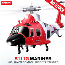 Original Syma S111G RC Remote Control Simulation Attack Helicopter 3 CH for Kids