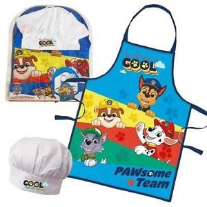 Paw Patrol Küchenset mit Schürze und Kochmütze für Kinder