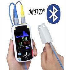 CE Handheld Fingertip Pulse Oximeter Bluetooth & Pleth Variability SpO2 PR TEMP