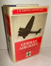 BOOK German Aircraft of the Second World War op 1978 Uncommon Planes included