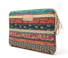 """Bohemia style Laptop Sleeve Case Bag For 17.3"""" 17  Inch Notebook Pattern B"""