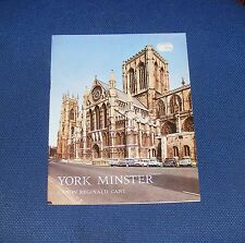 GUIDEBOOK: YORK MINSTER  24 PAGES 1972 PITKINS PICTORIALS LIMITED