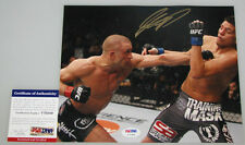 Georges Rush St Pierre 'Gsp' Hand Signed 8'x10' Photo 3 Ufc + Psa Dna Coa V70389