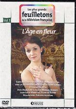 DVD - L'AGE EN FLEUR vol 1 / LES PLUS GRANDS FEUILLETONS DE LA TELEVISION