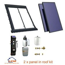 Solar Thermal 2 panel in roof hot water kit