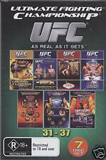 "UFC (ULTIMATE FIGHTING) Vol 31-37 (7 Disc Boxset) ""NEW"""