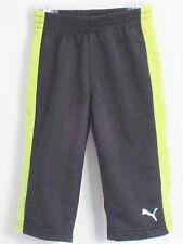 PUMA Boys Size 12 Months Black Track Pants