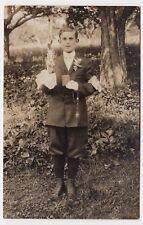 c1904-1920s First Holy Communion Real Photo Vintage POSTCARD RPPC Catholic