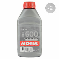 Motul RBF 600 Factory Line RBF600 Performance Racing Brake Fluid 2 x 500ml 1L