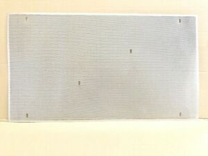 2010 2011 VOLVO VN / VNL ONE PIECE STAMPED 304 STAINLESS BUG SCREEN