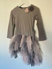Girls Designer KATE MACK Dress Age 6 Years
