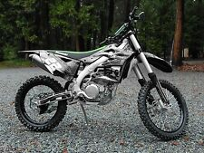 2012 2013 2014 2015 KXF 450 graphics Kawasaki KX450F sticker kit #2001 Metal