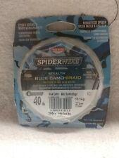 Spiderwire Blue Camo 40 lb 300 yd