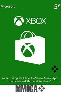 Microsoft Xbox LIVE 5 Euro € EUR Guthaben Card - MS Xbox 360 & One - [DE/EU]
