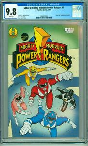 Sabans Mighty Morphin Power Rangers #1 CGC 9.8 1994 Hamilton Comics Many 1st App