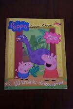 Świnka Peppa Kolorowanka z naklejkami W Krainie Dinozaurów